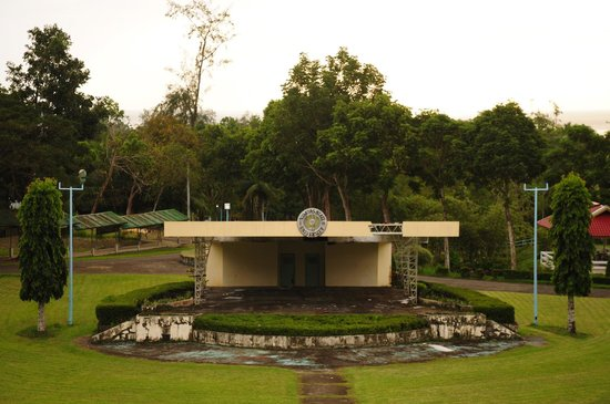 Baybay, Filipiny:                   A Welcome Center for the university