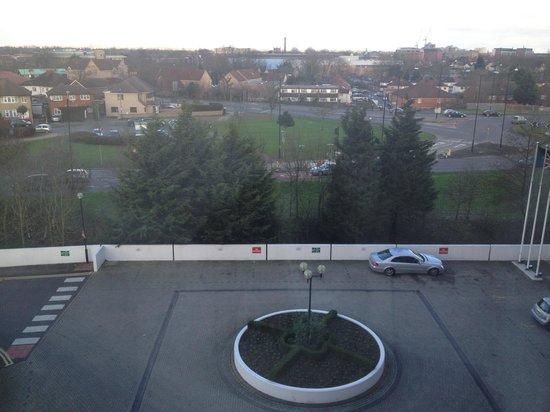 Copthorne Hotel Slough - Windsor:                                                       Veiw from room