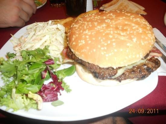St. Georgio Hotel:                                     nyana burger