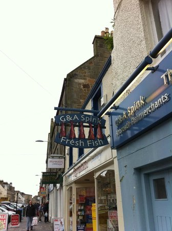 The Tailend Restaurant and Fish Bar: Outside of the Restaurant