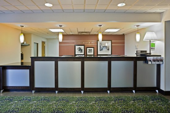 Hampton Inn Cleveland Airport-Tiedeman Rd: Welcome