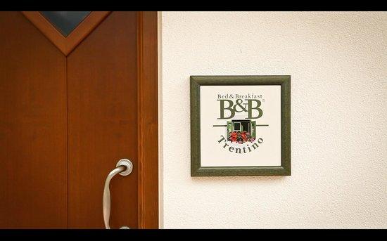 Bed and Breakfast Casa dei Ricci: Soci dell'Assiciazione B&B di Qualità del Trentino