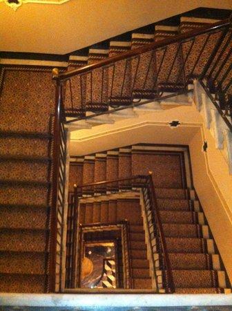 The Westin Europa & Regina, Venice:                   Stairwell