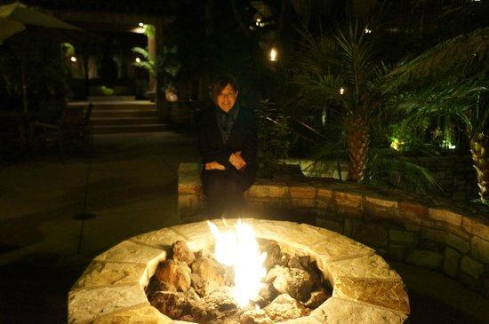 Tradewinds Carmel:                   Enjoying the fire on a cool January night