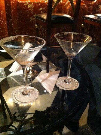 The Westin Europa & Regina, Venice:                   Yum lemon-drop martinis