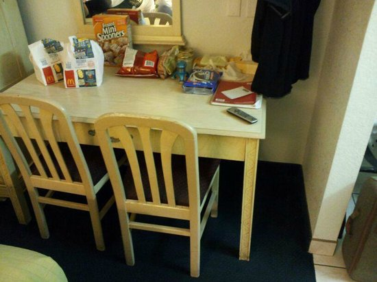 Travelodge San Ysidro:                   Table