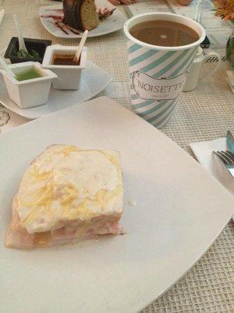 Noisette Gourmet : Croque monsieur