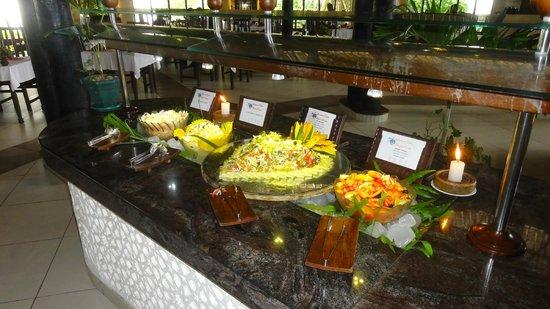 Southern Palms Beach Resort:                   .. nur ein kleiner Teil des Buffets