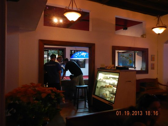 Lilikoi Grill & Wine Bar:                   Pool Table room