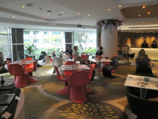 Wangz Hotel : Breakfast area in ground floor Nectar Restaurant