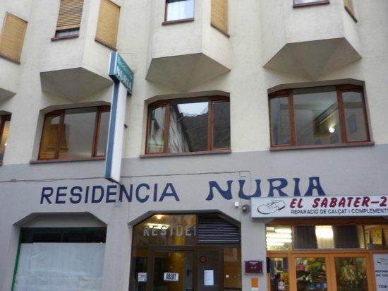 Residencia Nuria: Fachada