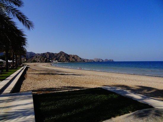 فندق البستان بالاس إنتركونتيننتال مسقط:                   Beach                 