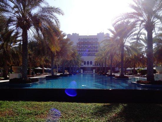 Al Bustan Palace, A Ritz-Carlton Hotel:                   Hotel pool