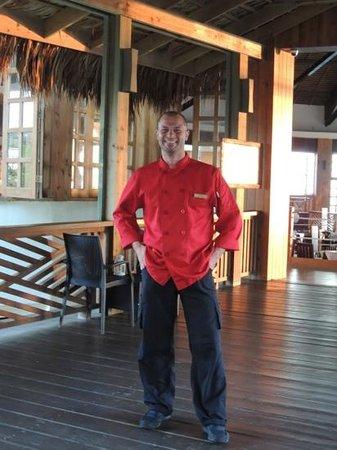 Media Luna Resort & Spa:                   Lo chef Francesco, grande!
