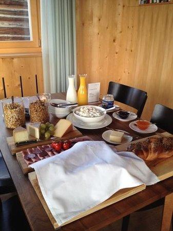 Ustria Steila:                   Frühstück...