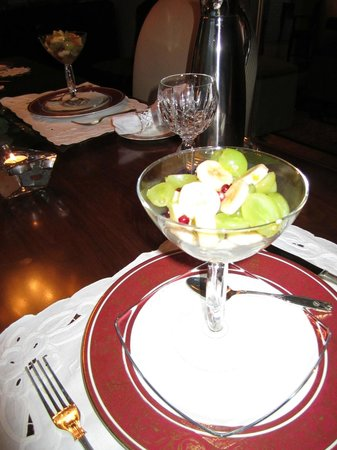 Shangarry Bed and Breakfast:                   Exotic Fruit Salad