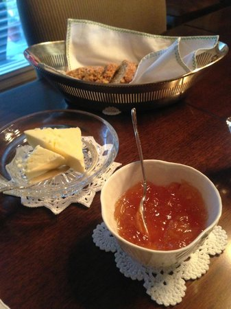 Shangarry Bed and Breakfast:                   Irish Brown Bread with Homemade Orange Marmalade