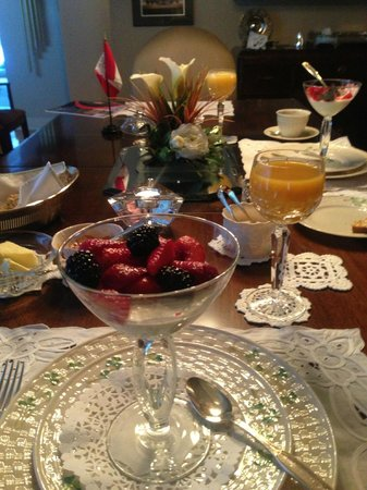 Shangarry Bed and Breakfast:                   Another Stunning Breakfast