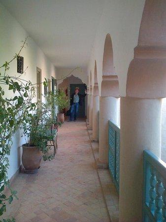 Palais Oumensour: L'accès aux chambre
