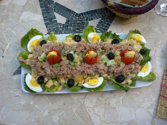 Palais Oumensour: La salade...