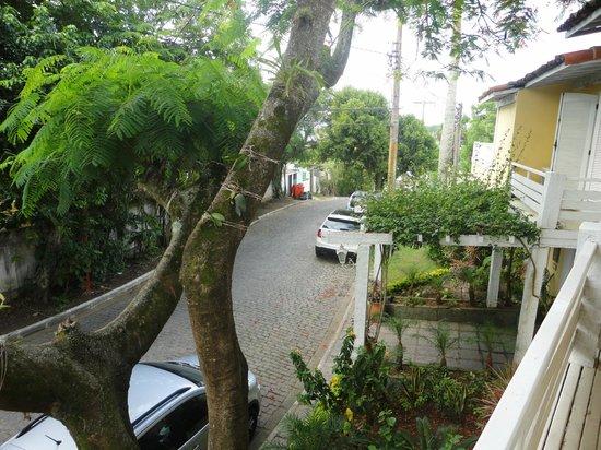 Auberge de la Langouste:                                     Vista desde el balcon de la habitacion