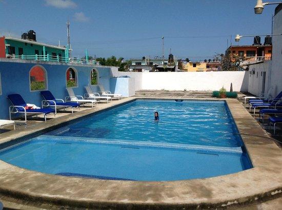Tecolutla, เม็กซิโก:                                     Hotel Mango - Alberca