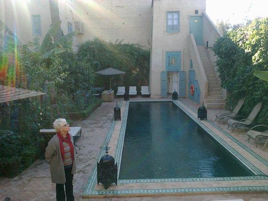 Palais Oumensour: la piscine