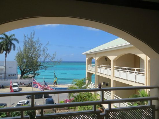 Sandals Inn:                   The view from our room