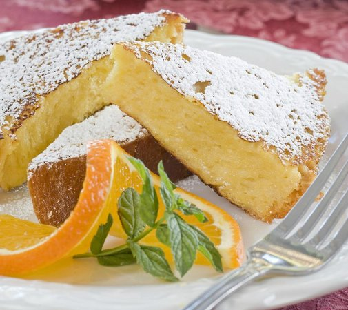 Bottger Mansion of Old Town: orange French toast
