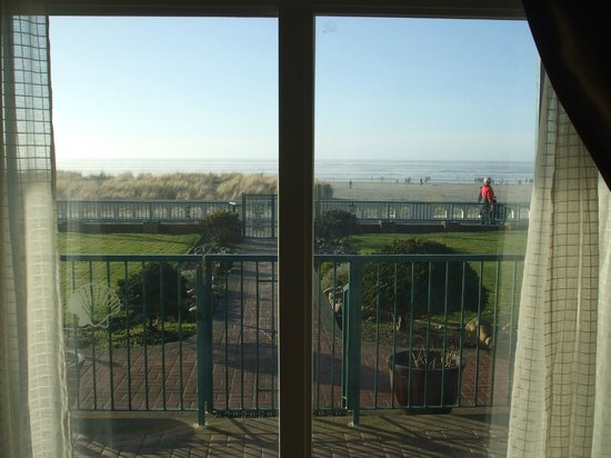 Inn at the Prom:                   View from inside room