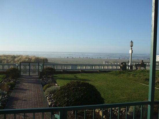 Inn at the Prom:                   View from patio
