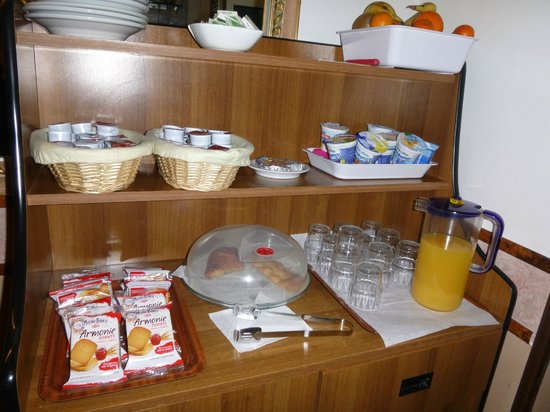 Hotel Giuliana:                   Breakfast