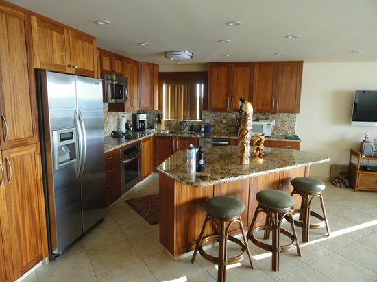 Polo Beach Club: Upgraded kitchen