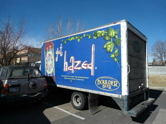 Boulder Beer Company:                   Hazed & Infused Truck