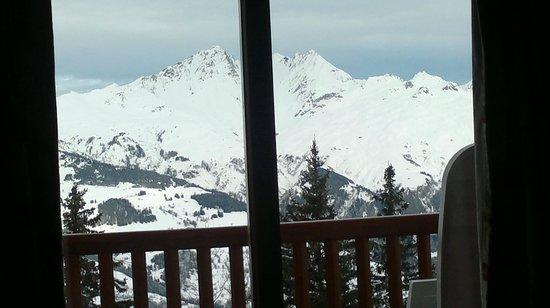 Pierre & Vacances Premium Residence Les Alpages de Chantel:                   Vista desde la sala principal