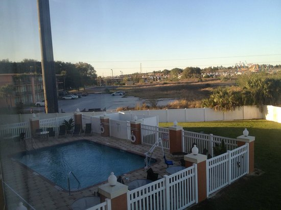 Holiday Inn Express Hotel & Suites Orlando South-Davenport: View from 216, pool