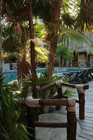 Xaloc Resort:                   wunderschöne Naturdusche