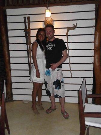 Merecumbe Hotel:                                                       En el comedor