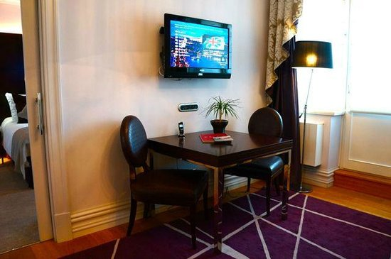 The Mark Luxury Hotel Prague:                                     Grand Deluxe Room - living area