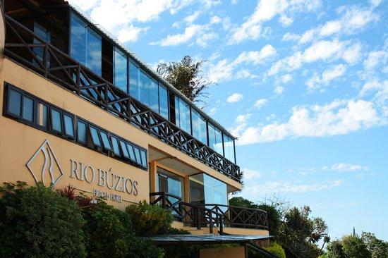 Rio Buzios Beach Hotel: Frontal view
