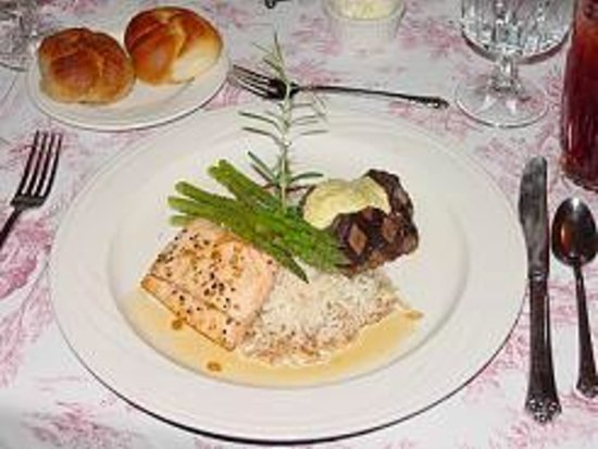 Whitestone Country Inn: Dinner Entree