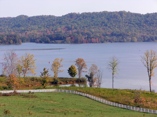 Whitestone Country Inn: Overlooking Watts Bar Lake