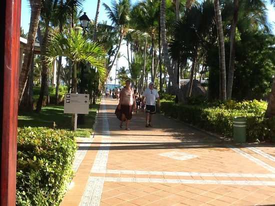 ClubHotel Riu Bambu:                                     walkway to the beach