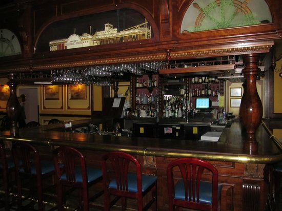 The Lafayette:                   The beautiful bar