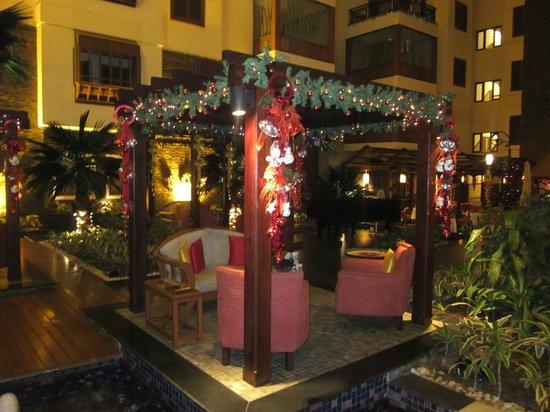 The Paul Bangalore:                                     Hotel lobby