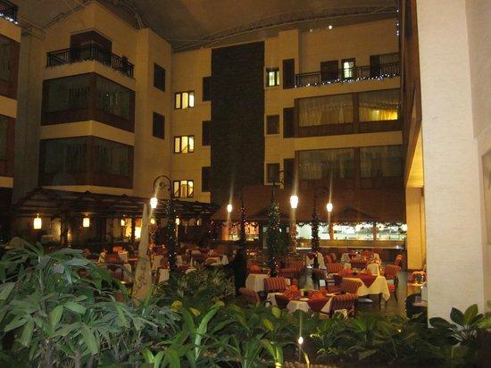 The Paul Bangalore:                                     Hotel lobby/dining area