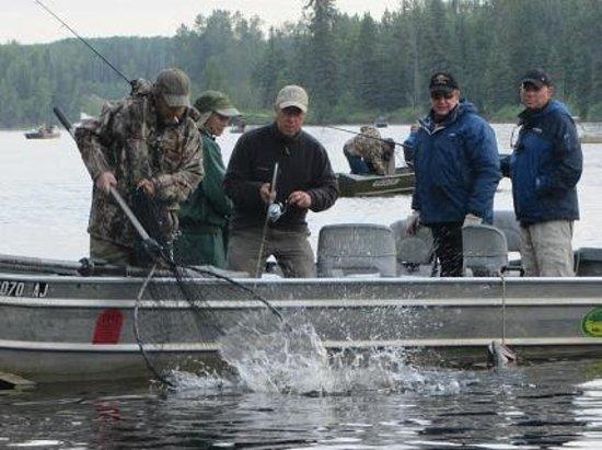Houston, Аляска: Alaska King Salmon Fishing