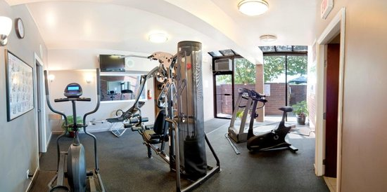 Best Western Chelsea Inn: State of the art cardio equipment and weights.
