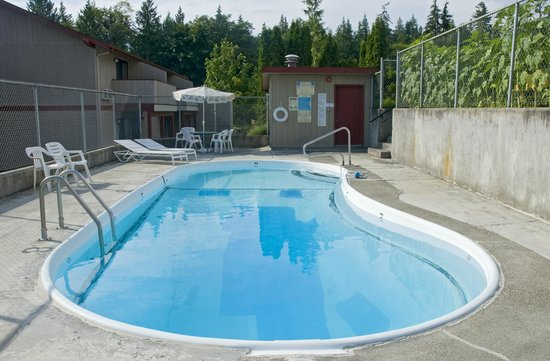 Sequim Bay Lodge: Pool