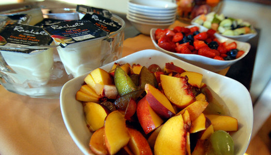 The Ferryboat: Fresh Fruit at breakfast